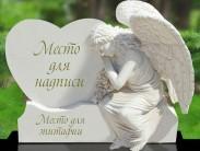 Символизм памятника на могилу в виде сердца  и варианты исполнения
