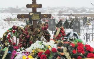 Варианты размеров крестов для установки на могилу