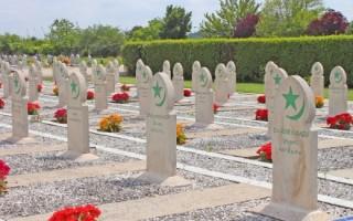 Как выглядит мусульманское кладбище и почему его не посещают женщины