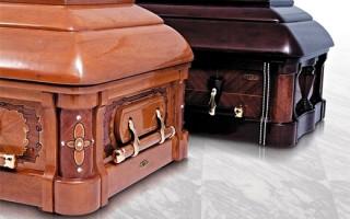 Преимущества элитных гробов: особенности материалов и отделки