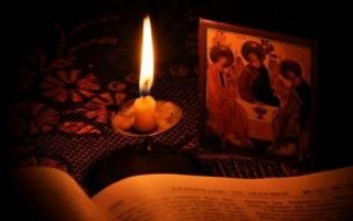 Текст литии, которая читается по усопшим: правила чтения