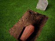 Какие изменения с телом происходят в гробу после захоронения