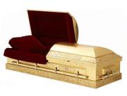 Особенности гроба золотого цвета и других цветов