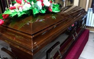 Как определить размер гроба для покойного: ширина и длина