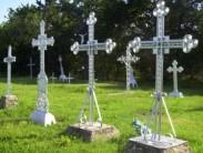 Правила установки металлических крестов на могилу
