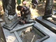 Правила установки гранитного памятника