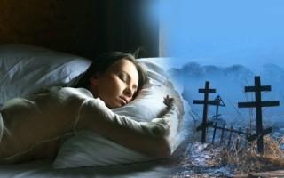 Трактовка сна о могилах и кладбище для мужчин и женщин
