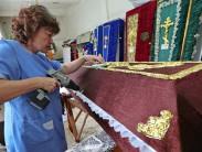 Обзор технологий  и выбор ткани для наружной и внутренней обивки гробов