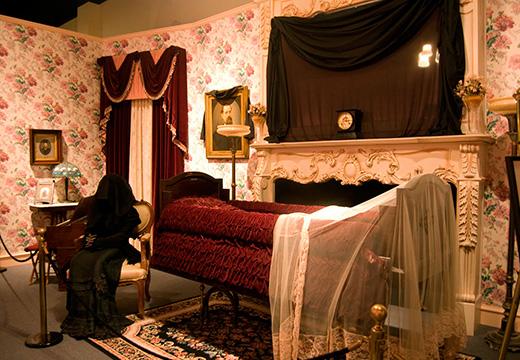 комната после покойника