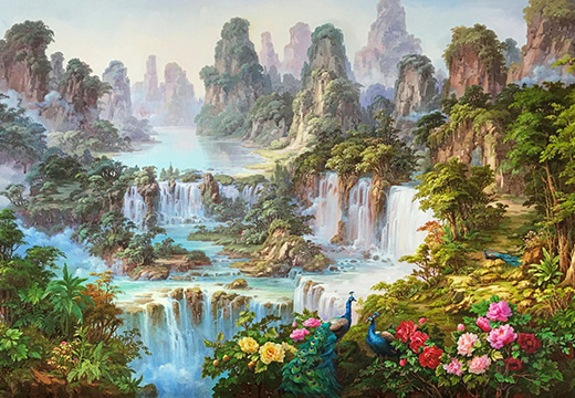 картина рая