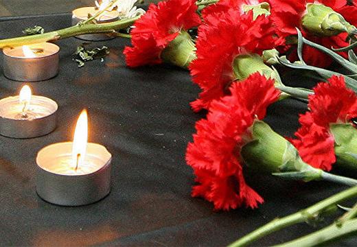 гвоздики и свеча