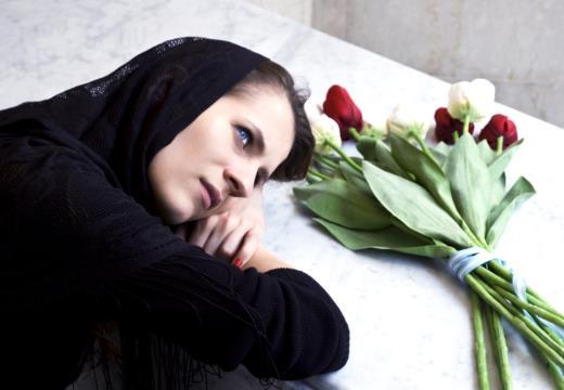 Похороны усопшей