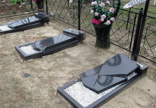 вандализм на кладбище