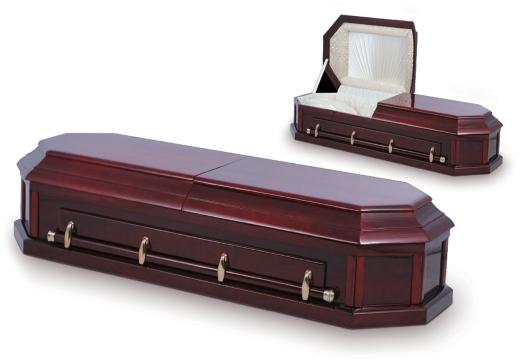 Прямоугольный гроб