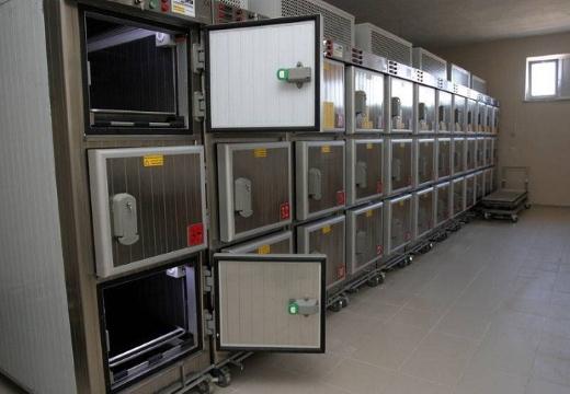Холодильники в морге