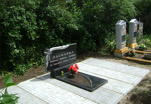 чистое надгробие