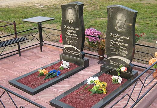 памятники на могилах