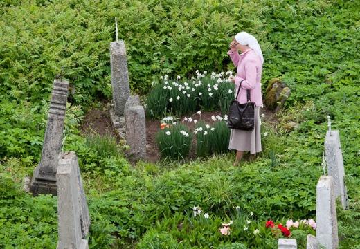 Посещение могилы