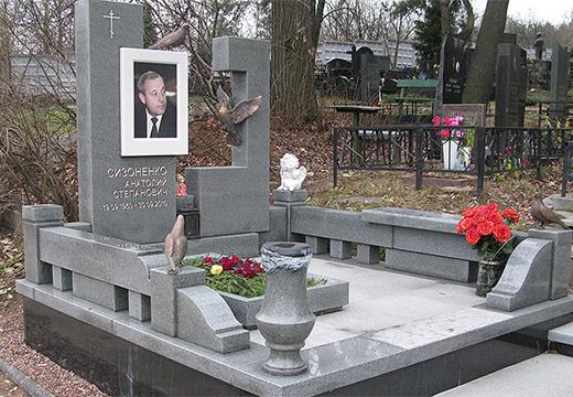 ухоженная могила
