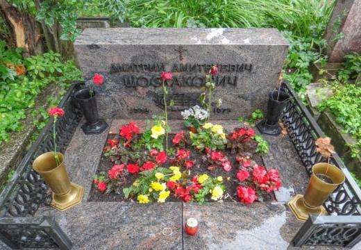 Надгробие Шестаковича