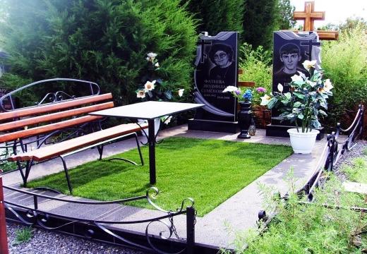 Озеленение могилы