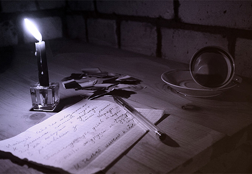 ручка и черновики