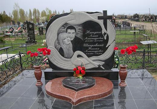 памятник на две могилы