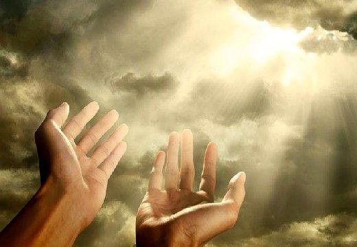 солнце светит сквозб облака