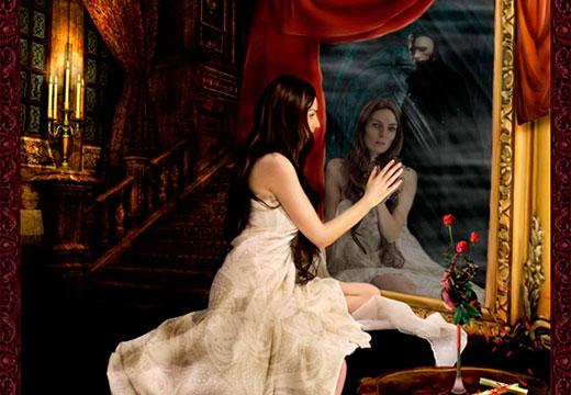 девушка видит загробный мир