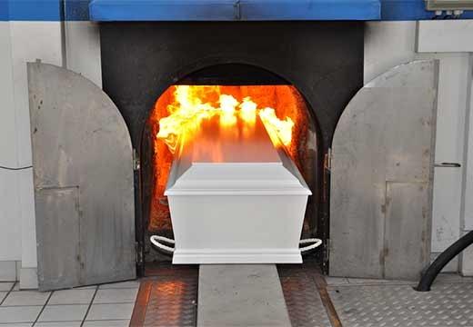 гроб и печь