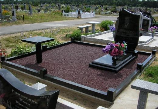 Благоустройство надгробия