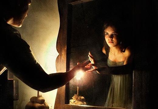 отражение в темноте