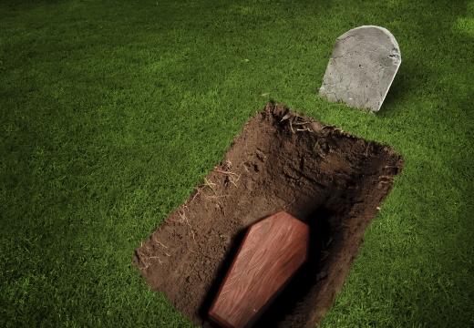 яма с гробом