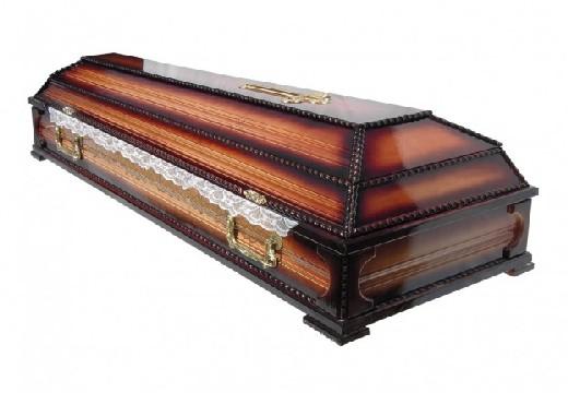 коричневый гроб