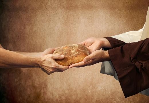 Подача милостыни