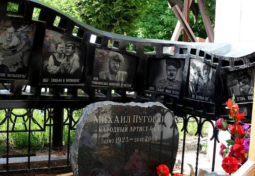 Могила Пуговкина