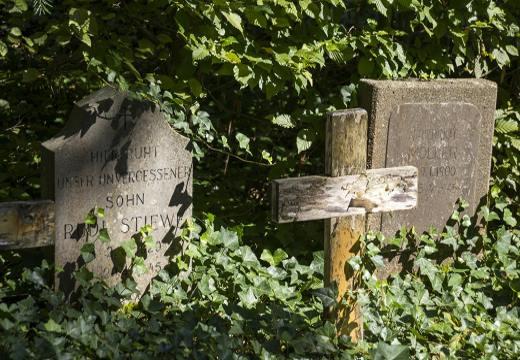 крест и могилы