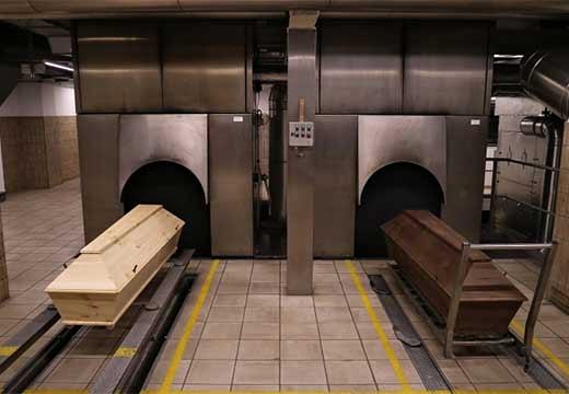 гробы и отсеки