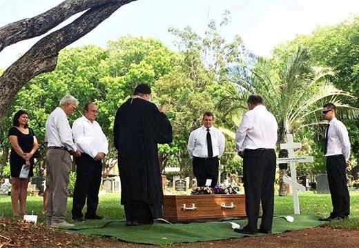 люди и похороны
