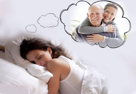 Девушке снится отец