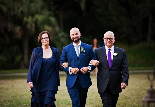 парень и его родители