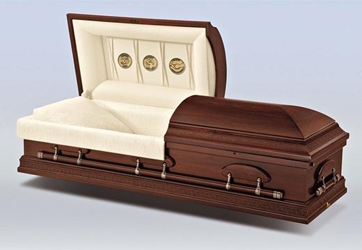 открытый гроб