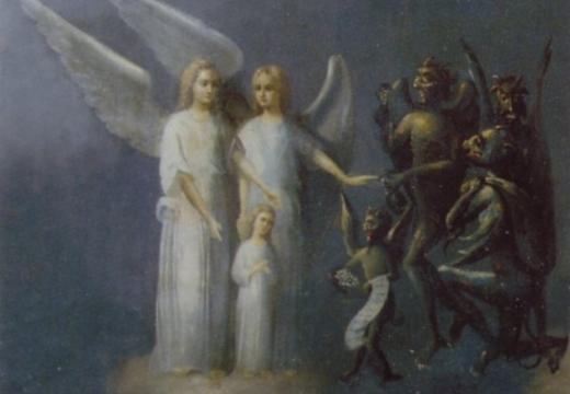 мытарства души ангелы демоны