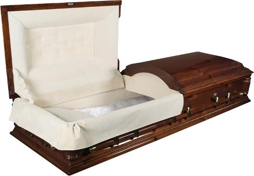 Гроб с открывающимися секциями
