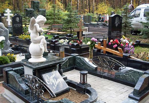 детская могила