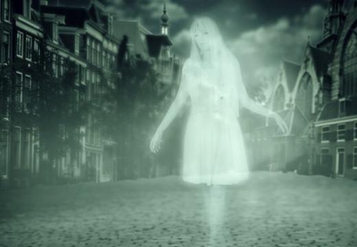 призрак девушки