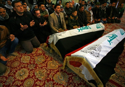 мусульмане на похоронах