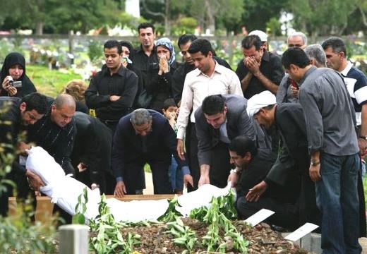 погребение мусульманина