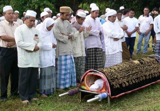 похороны мусульманина