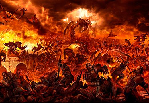 художественное представление ада
